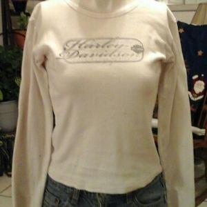 Harley Davidson long sleeve tee shirt